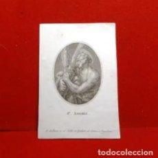 Arte: ANTIGUO GRABADO SAN ANDRÉS. ESTRUC.BARCELONA. Lote 270561203