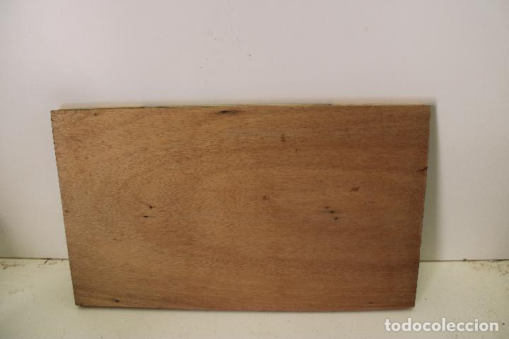 Arte: triptico antiguo religioso en madera laminada - Foto 3 - 270670293