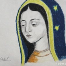 Arte: VIRGEN DE GUADALUPE OBRA DE GILABERTE. Lote 270991038