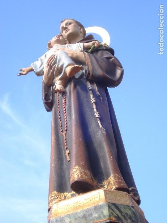 Arte: SAN ANTONIO DE PADUA CON NIÑO DORADO AL ORO FINO - Foto 12 - 271598048