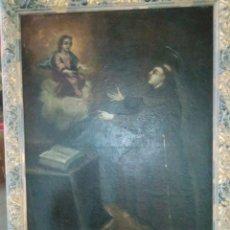 Arte: SAN ANTONIO ÓLEO SOBRE LIENZO XIX ORIGINAL. Lote 271884783