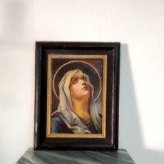 Arte: ANTIGUA PINTURA OLEO RELIGIOSO SIGLO XIX,VIRGEN DOLOROSA ESTILO ITALIANO. Lote 272570398