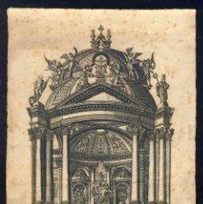 Arte: GRABADO RELIGIOSO DE NUESTRA SEÑORA DEL PILAR DE ZARAGOZA (GRABADO POR JOSE GABRIEL LAFUENTE). Lote 273136298