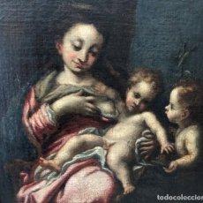 Arte: VIRGEN DE LA LECHE - ESCUELA ITALIANA - SIGLOS XVI-XVII. Lote 273741043