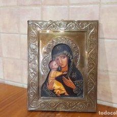 Arte: ANTIGUO ICONO RELIGIOSO. Lote 273764398
