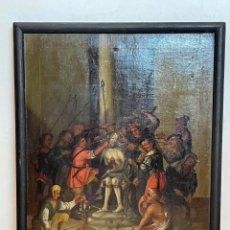Arte: ESCUELA DEL NORTE DE EUROPA, LA CORONACIÓN DE ESPINAS, SIGLO XVII. Lote 274174318