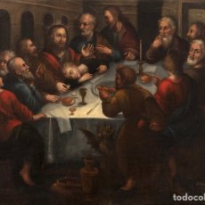 Arte: PAREJA DE ÓLEOS - ESCUELA ANDALUZA - SIGLO XVII - FIRMADO, FERNANDEZ FECIT. Lote 275122753