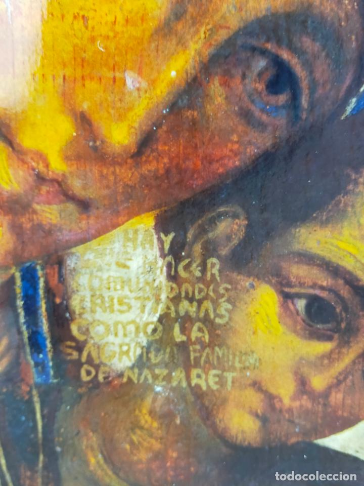 Arte: ICONO RELIGIOSO 40 CM DE ALTO - Foto 2 - 275768043