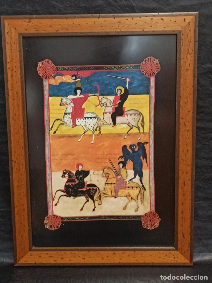 LOS CUATRO JINETES DEL APOCALIPSIS. BEATO DE LIÉBANA. V3 (Arte - Arte Religioso - Pintura Religiosa - Otros)