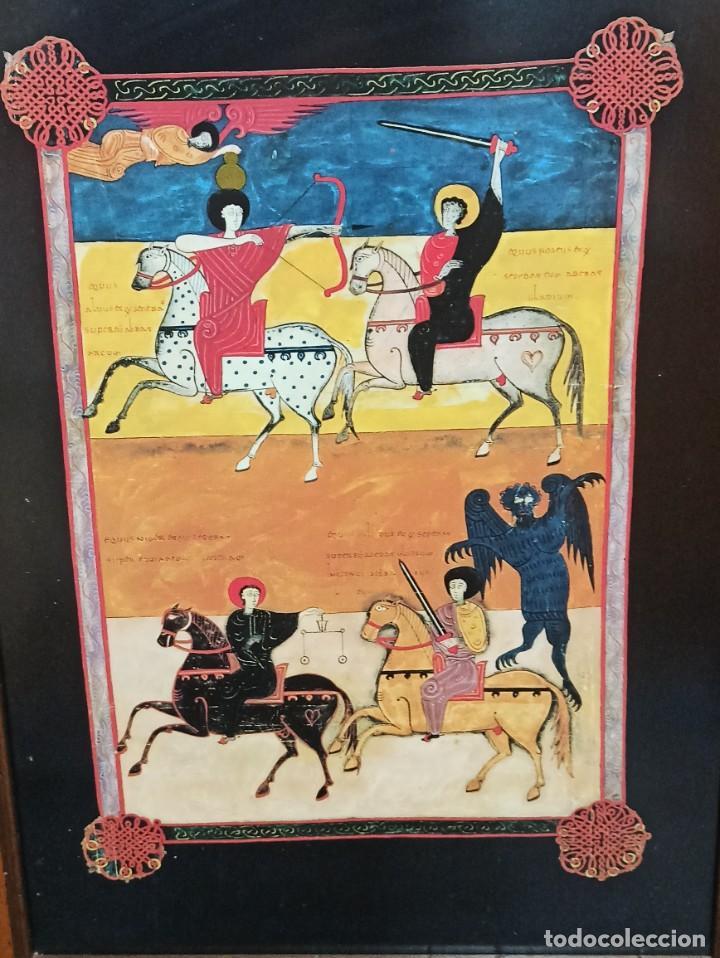 Arte: Los cuatro jinetes del Apocalipsis. Beato de Liébana. V3 - Foto 2 - 275843703
