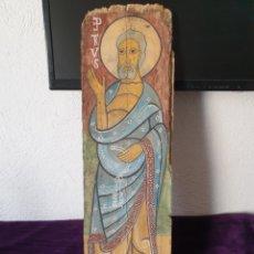 Art: ANTIGUO RETABLO SAN PEDRO RELIGIOSO PINTADO. Lote 275891078