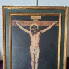 Arte: ANTIGUO RETABLO RELIGIOSO JESÚS CRISTO. Lote 275894973