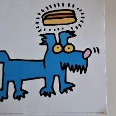 "Arte: KEITH HARING, "" HOT DOG"". Lote 275998153"