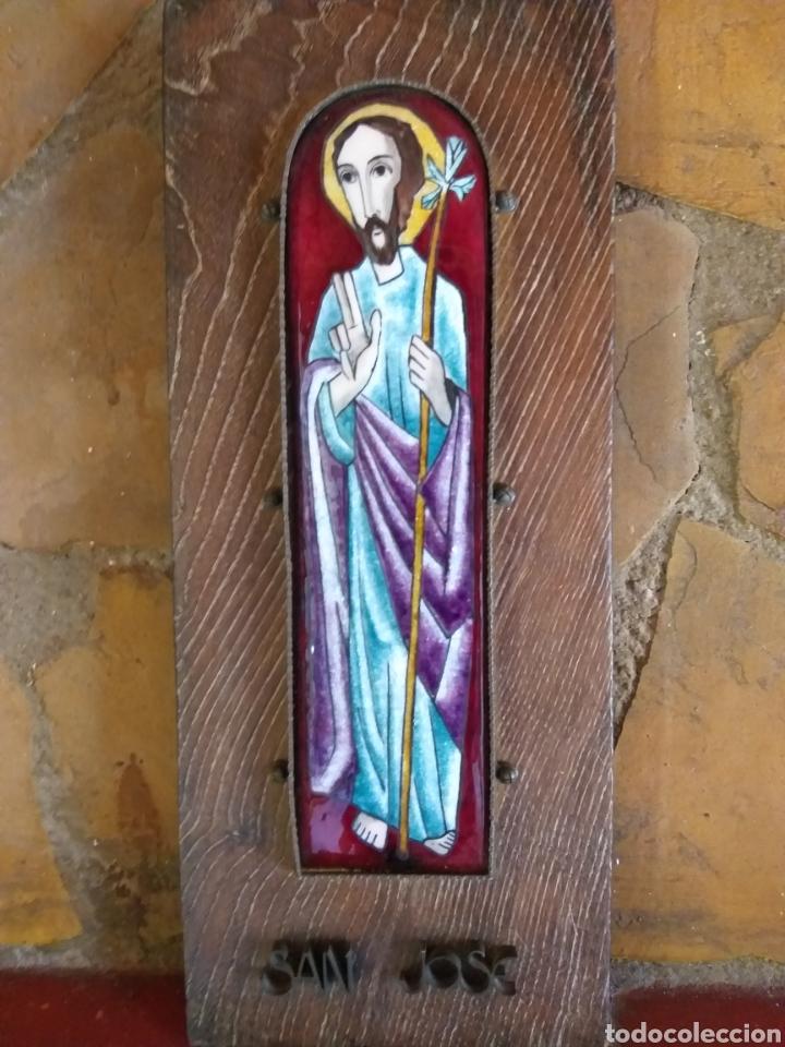 ESMALTE (Arte - Arte Religioso - Retablos)