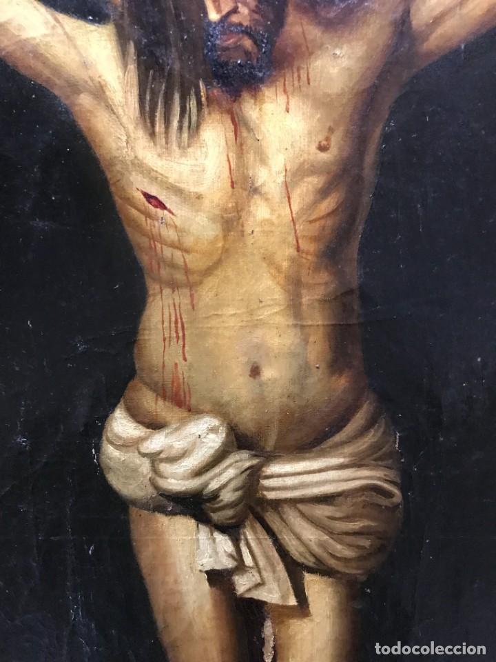 Arte: MAGNIFICO CRISTO DE VELAZQUEZ, GRAN TAMAÑO 1METRO - Foto 5 - 276248303