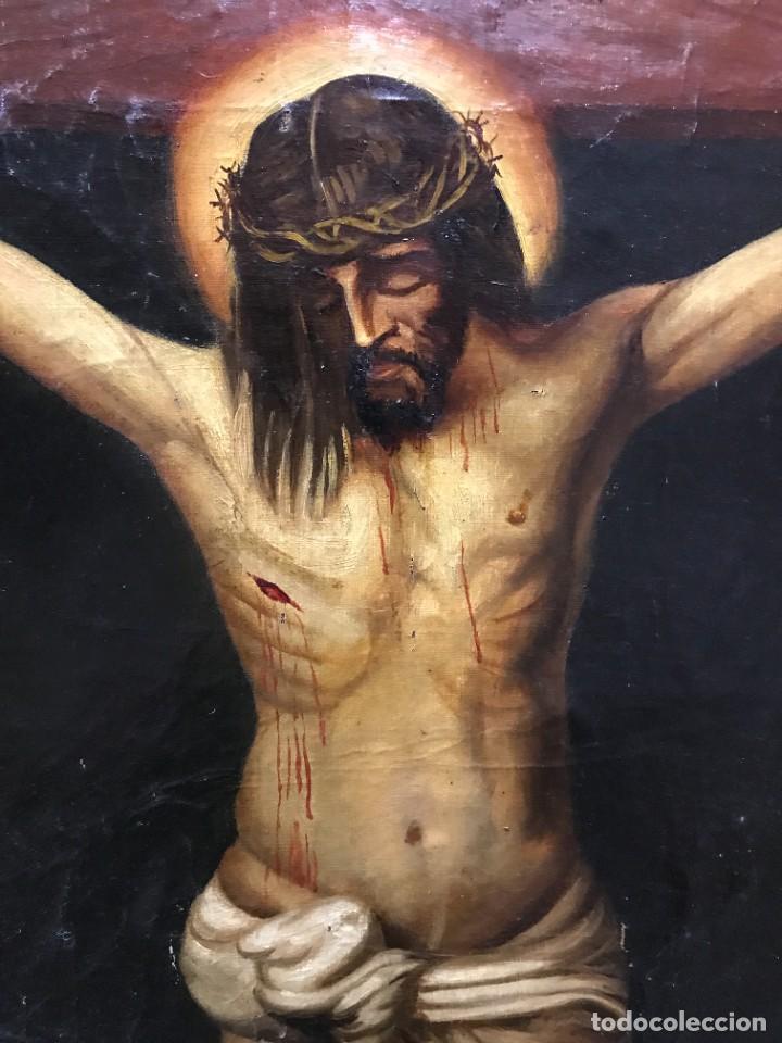 Arte: MAGNIFICO CRISTO DE VELAZQUEZ, GRAN TAMAÑO 1METRO - Foto 6 - 276248303