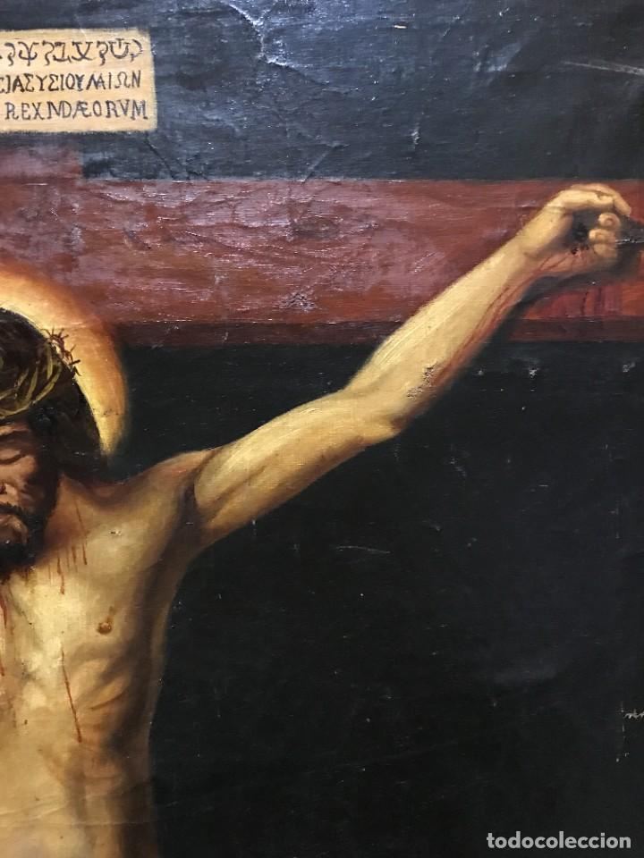 Arte: MAGNIFICO CRISTO DE VELAZQUEZ, GRAN TAMAÑO 1METRO - Foto 7 - 276248303
