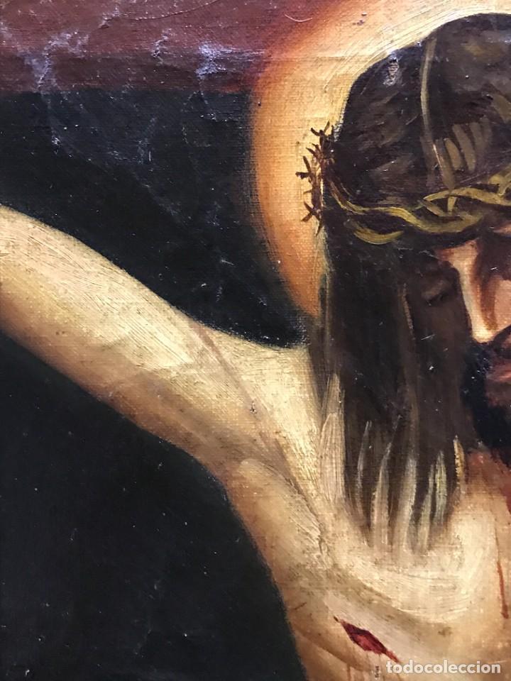 Arte: MAGNIFICO CRISTO DE VELAZQUEZ, GRAN TAMAÑO 1METRO - Foto 11 - 276248303