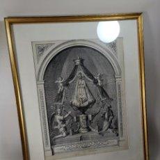 Arte: ANTIGUA LITOGRAFIA MARTI S.XIX - VIRGEN DEL VIÑET ,VINYET QUE SE VENERA EN SITGES. Lote 276254523