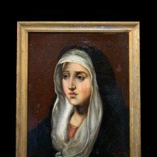 Arte: MAGNIFICA DOLOROSA ESC. ESPAÑOLA. Lote 276441853