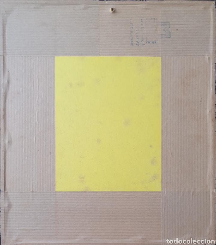 Arte: Josep Mª Vayreda Canadell (Olot, 1932-2001) - Inmaculada,Detalle.Retablo.Firmado. - Foto 13 - 276797033