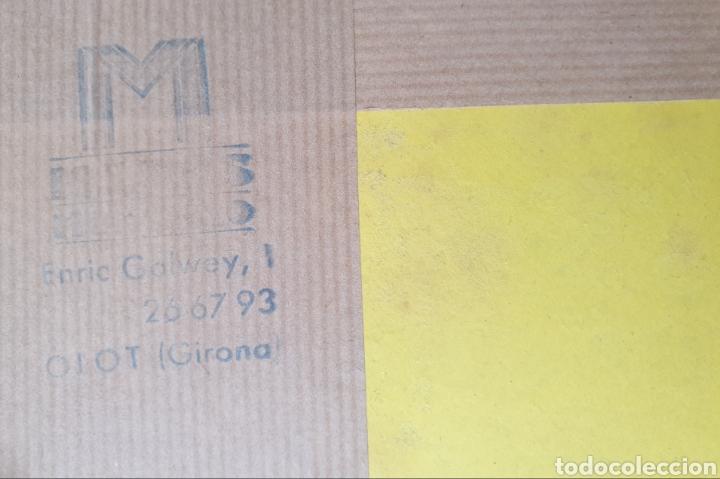 Arte: Josep Mª Vayreda Canadell (Olot, 1932-2001) - Inmaculada,Detalle.Retablo.Firmado. - Foto 14 - 276797033