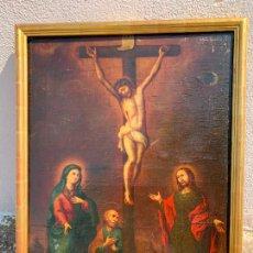 Arte: IMPORTANTE Y ANTIGUO CUADRO AL ÓLEO FIRMADO JOSEPH PADILLA , A ESTUDIAR. Lote 277115233