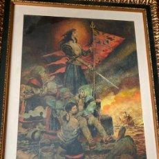 Arte: MARÍA PITA POR ANTONIO HERNÁNDEZ PALACIOS (MADRID 1921-2000). Lote 277300778