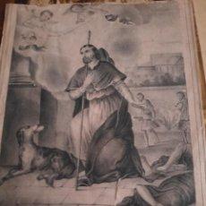 Arte: LOTE DE GRABADOS RELIGIOSOS O SIMILAR.ENTRE OTROS.. Lote 277537448