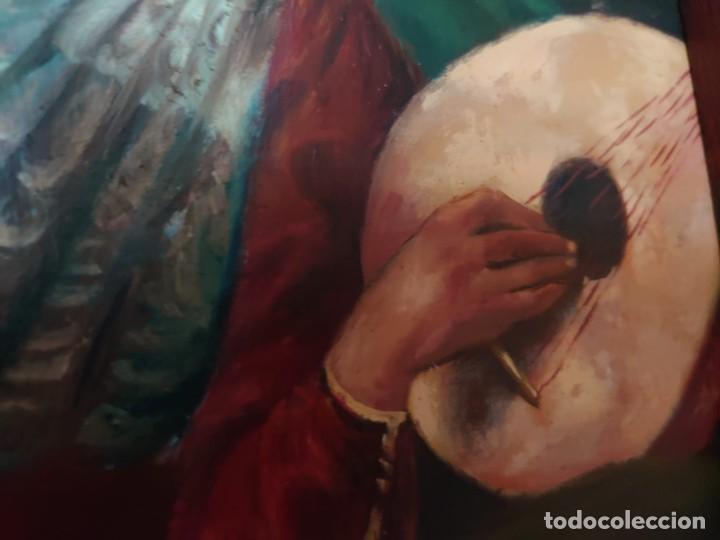 Arte: OLEO SOBRE TABLA LA ADORACION MAGOS RETABLO NEOCLASICO - Foto 14 - 277569418