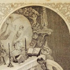 Arte: PARTES DE LA MISA. ESTAMPAS. ANGEL FATJÓ. LITOGRAFIA SOBRE PAPEL. ESPAÑA. SIGLO XIX. Lote 277599208