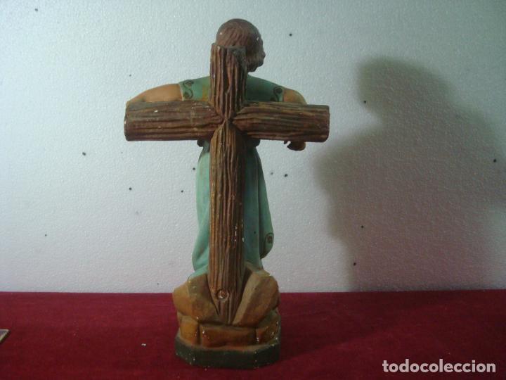 Arte: NIÑO JESUS EN LA CRUZ SAN JUANITO - Foto 13 - 277648683