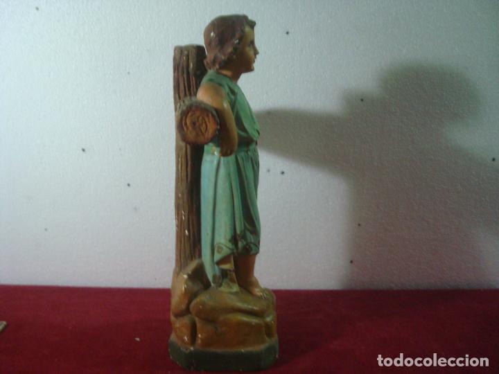 Arte: NIÑO JESUS EN LA CRUZ SAN JUANITO - Foto 20 - 277648683