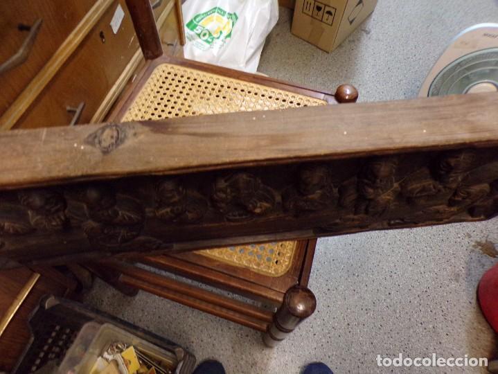 Arte: santa cena de madera tallada retablo para colgar estilo gotico - Foto 7 - 278331248