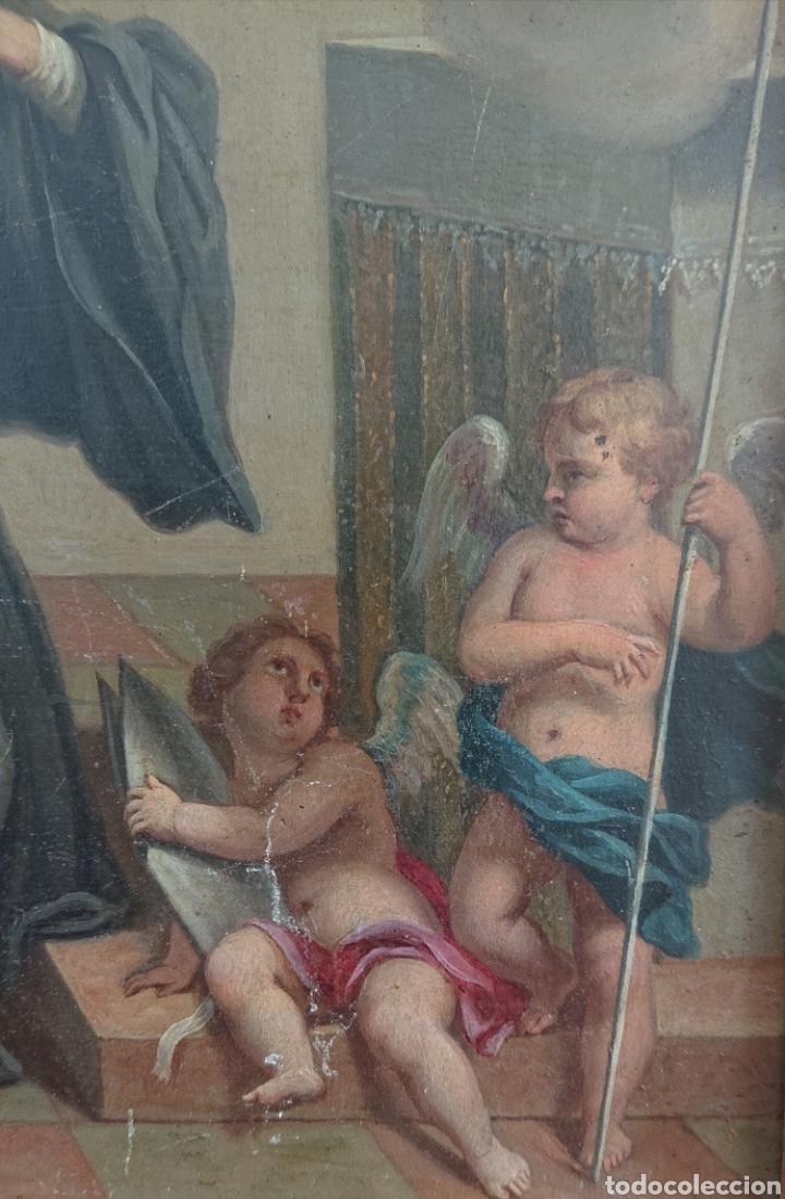 Arte: Óleo sobre cobre, excepcional, gran calidad, siglo XVIII - XIX, ved fotos - Foto 2 - 278424273