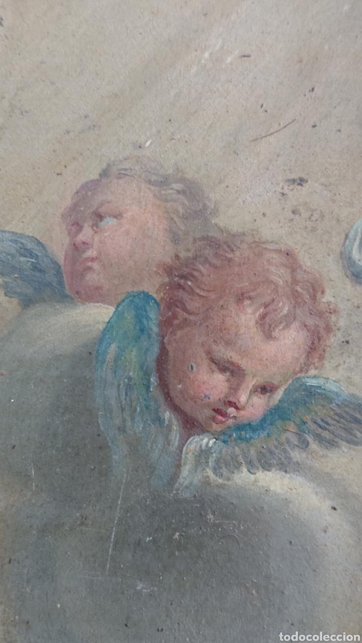 Arte: Óleo sobre cobre, excepcional, gran calidad, siglo XVIII - XIX, ved fotos - Foto 5 - 278424273