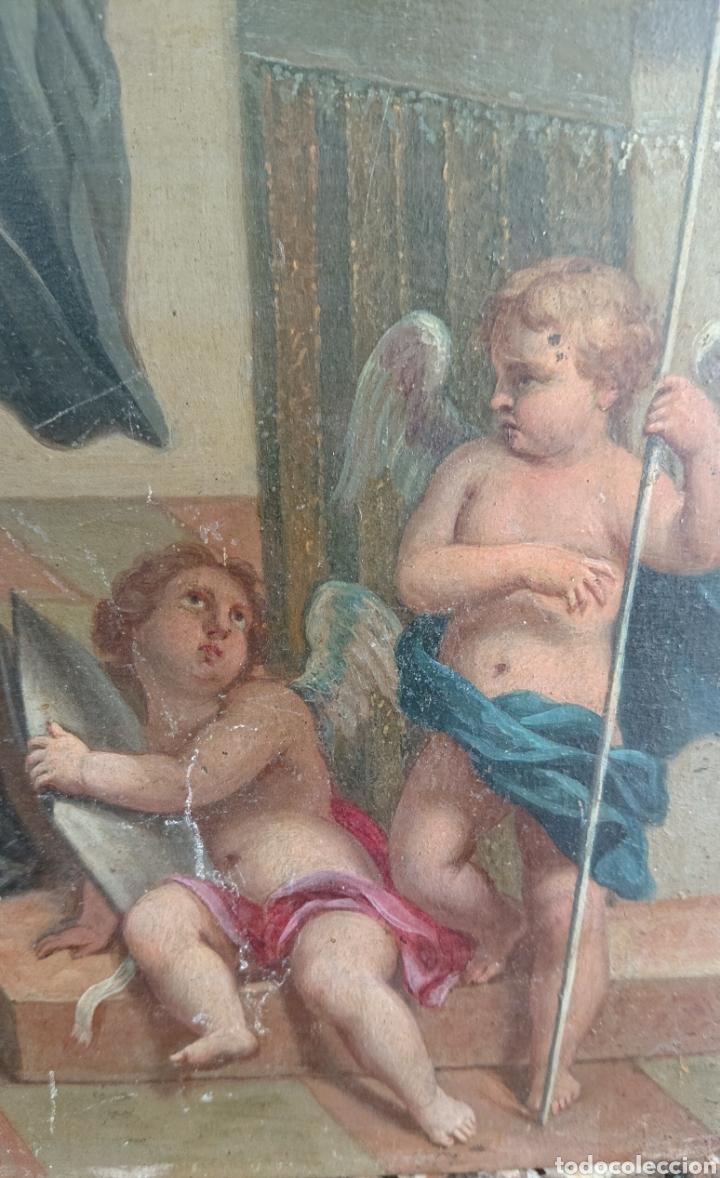 Arte: Óleo sobre cobre, excepcional, gran calidad, siglo XVIII - XIX, ved fotos - Foto 7 - 278424273