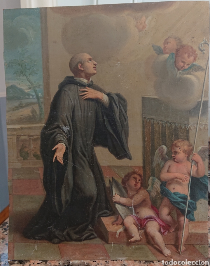 ÓLEO SOBRE COBRE, EXCEPCIONAL, GRAN CALIDAD, SIGLO XVIII - XIX, VED FOTOS (Arte - Arte Religioso - Pintura Religiosa - Otros)