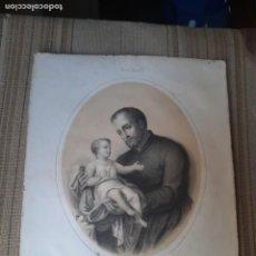 Arte: GRABADO O LITOGRAFIA RELIGIOSA. Lote 278490483