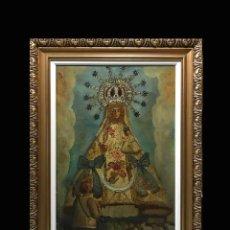 Arte: VIRGEN CON NIÑO, ESC. ANDALUZA. Lote 278968503