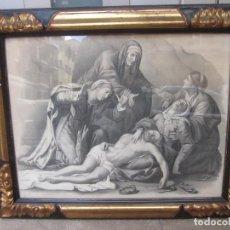 Arte: ANTIGUO GRABADO. Lote 279359443