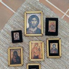 Arte: SET DE CUADROS RELIGIOSOS PEQUEÑOS. Lote 279411028