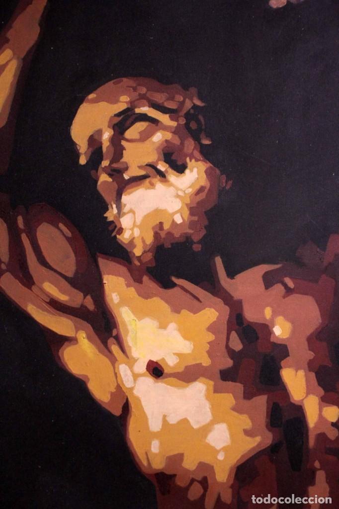 Arte: San Bartolomé en el martirio, reinterpretación de la obra de José de Ribera. 100x81cm - Foto 2 - 281919788