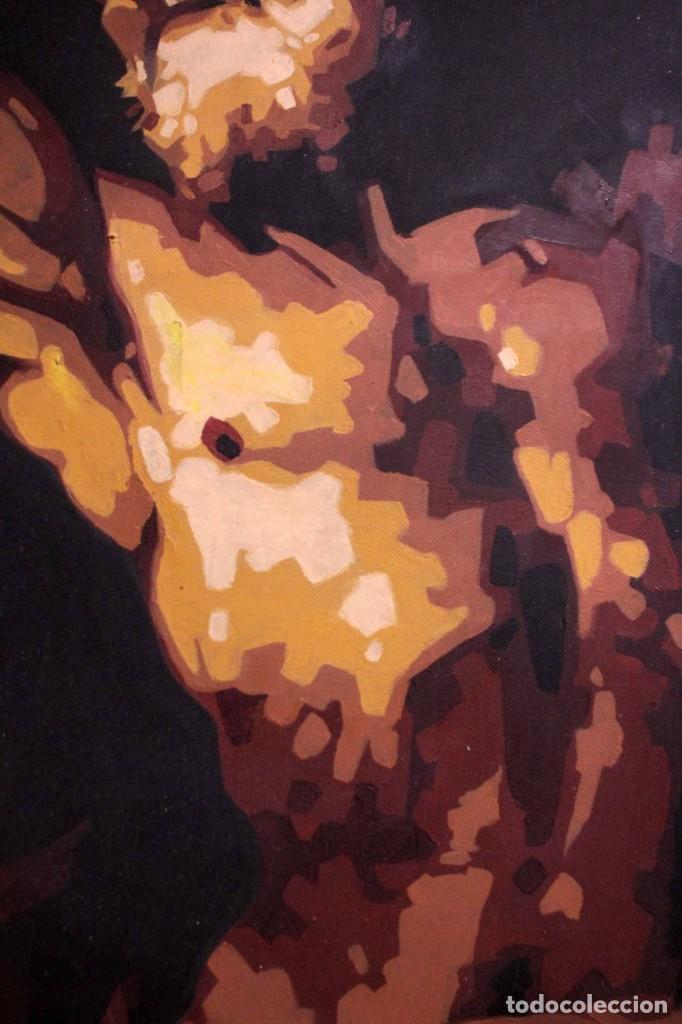 Arte: San Bartolomé en el martirio, reinterpretación de la obra de José de Ribera. 100x81cm - Foto 3 - 281919788