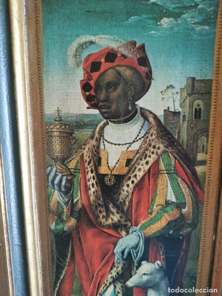 Arte: tríptico Joos Van Cleve. 1500. Años 60.Leer bien el anuncio - Foto 6 - 283688248