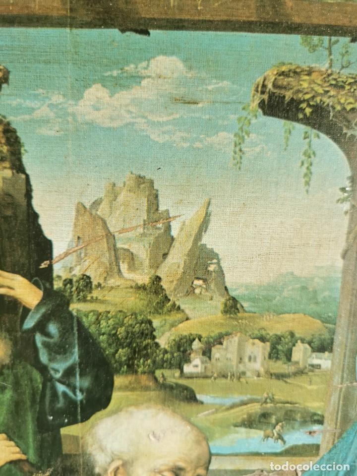 Arte: tríptico Joos Van Cleve. 1500. Años 60.Leer bien el anuncio - Foto 11 - 283688248