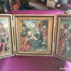 Arte: TRÍPTICO JOOS VAN CLEVE. 1500. AÑOS 60.LEER BIEN EL ANUNCIO. Lote 283688248