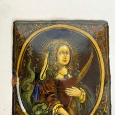 Art: JACQUES LAUDIN, ESMALTE DE LIMOGES, SANTA MARTA, SIGLO XVII. Lote 284038323