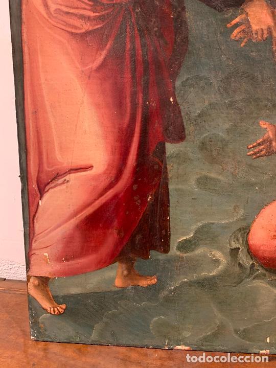 Arte: Retablo religioso de madera xvi-xvii - Foto 2 - 285149333