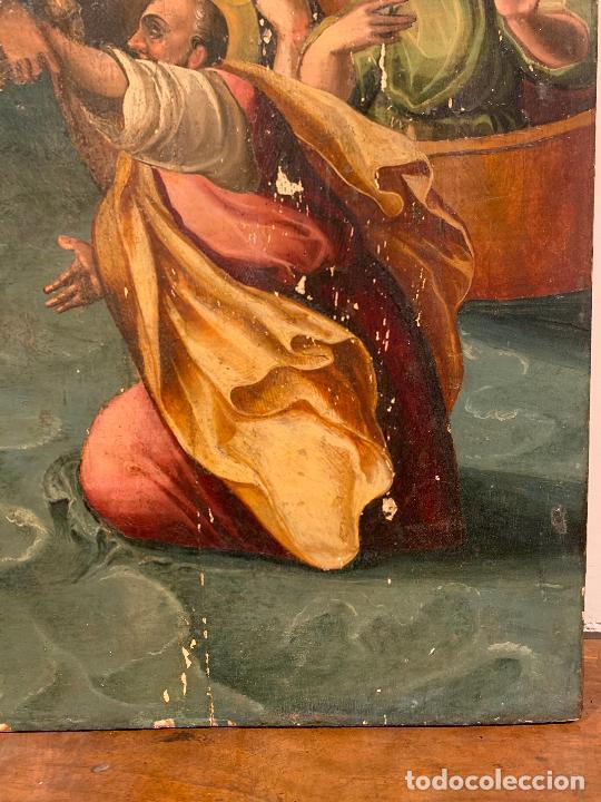 Arte: Retablo religioso de madera xvi-xvii - Foto 3 - 285149333